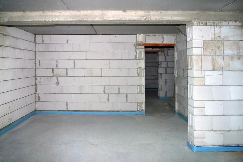 Rohbau eines Kellers
