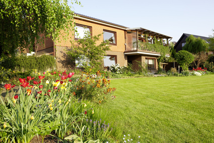 Wohnungseigentum mit Garten